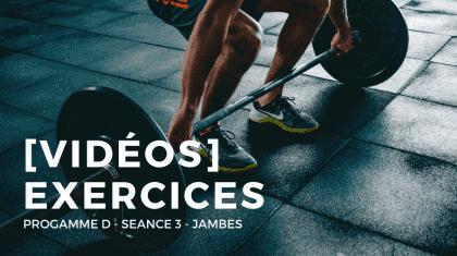 PROGRAMME D _ EXERCICES - SEANCE 2